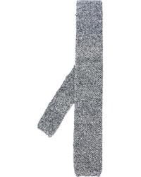 schwarze Strick Krawatte von Eleventy