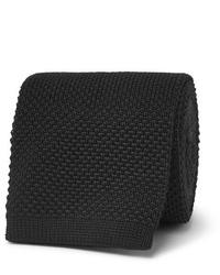 schwarze Strick Krawatte von The Row