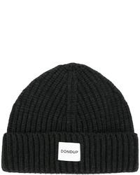 schwarze Strick Mütze von Dondup