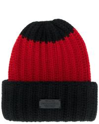 schwarze Strick Mütze von Dsquared2
