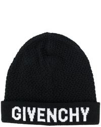 schwarze Strick Mütze von Givenchy