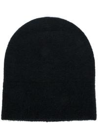 schwarze Strick Mütze von Isabel Marant