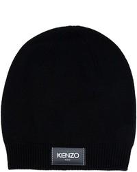 schwarze Strick Mütze von Kenzo
