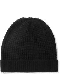 schwarze Strick Mütze von Madeleine Thompson