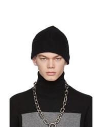 schwarze Strick Mütze von Random Identities