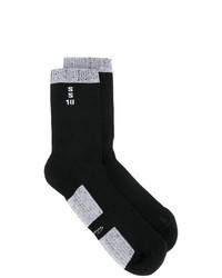 schwarze Strick Socken von Rick Owens