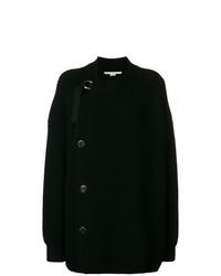 schwarze Strick Strickjacke mit einer offenen Front von Stella McCartney