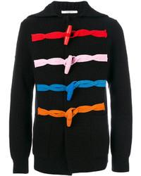 schwarze Strickjacke mit einem Knebelverschluss von Givenchy