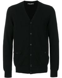 schwarze Strickjacke von Dolce & Gabbana
