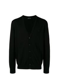 schwarze Strickjacke von Emporio Armani