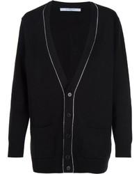 schwarze Strickjacke von Givenchy