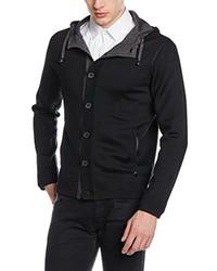schwarze Strickjacke von Karl Lagerfeld