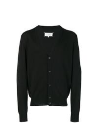 schwarze Strickjacke von Maison Margiela