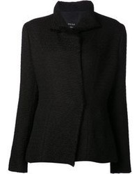 schwarze Tweed-Jacke von Lanvin