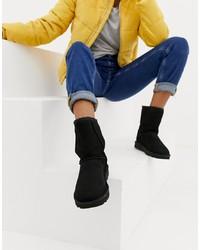 schwarze Ugg Stiefel von UGG