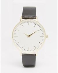 schwarze Uhr von Aldo