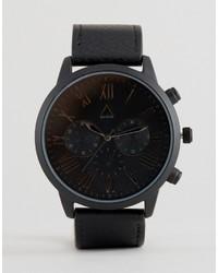 schwarze Uhr von Asos