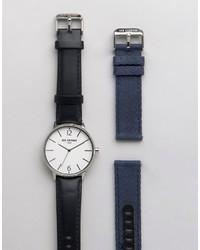 schwarze Uhr von Ben Sherman