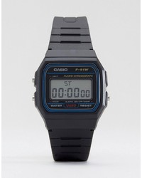 schwarze Uhr von CASIO