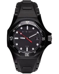 schwarze Uhr von Givenchy