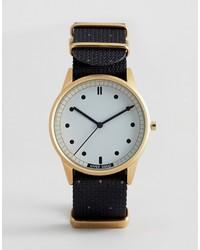 schwarze Uhr von Hypergrand