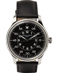 schwarze Uhr von J.Crew