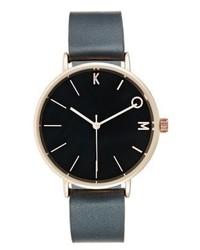 schwarze Uhr von KIOMI