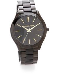 schwarze Uhr von Michael Kors