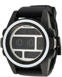 schwarze Uhr von Nixon