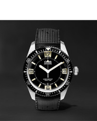 schwarze Uhr von Oris