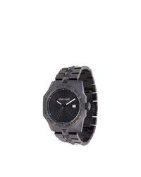 schwarze Uhr von Roberto Cavalli