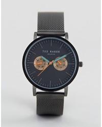 schwarze Uhr von Ted Baker