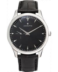 schwarze Uhr von Zenith