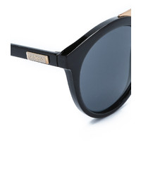 schwarze und goldene Sonnenbrille von Le Specs
