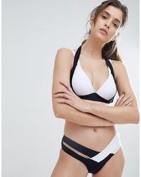 schwarze und weiße Bikinihose von Amy Lynn