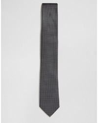 schwarze und weiße gepunktete Krawatte von French Connection