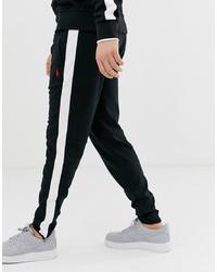 schwarze und weiße Jogginghose von Polo Ralph Lauren