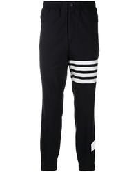 schwarze und weiße Jogginghose von Thom Browne