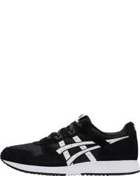 schwarze und weiße niedrige Sneakers von ASICS SportStyle