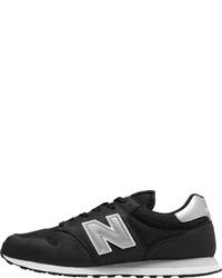 schwarze und weiße niedrige Sneakers von New Balance
