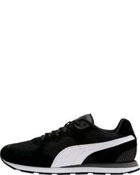 schwarze und weiße niedrige Sneakers von Puma