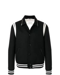 schwarze und weiße Shirtjacke von Valentino