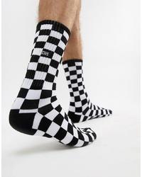 schwarze und weiße Socken von Vans