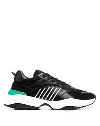 schwarze und weiße Sportschuhe von DSQUARED2