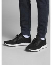 schwarze und weiße Sportschuhe von Jack & Jones