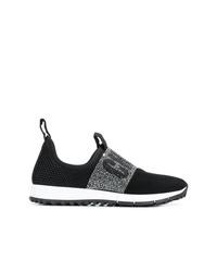 schwarze und weiße Sportschuhe von Jimmy Choo