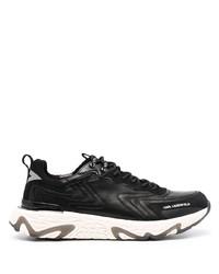 schwarze und weiße Sportschuhe von Karl Lagerfeld
