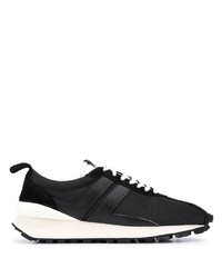 schwarze und weiße Sportschuhe von Lanvin