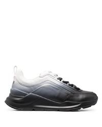 schwarze und weiße Sportschuhe von MSGM