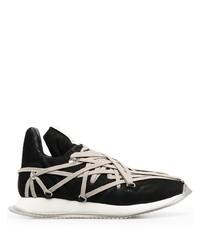 schwarze und weiße Sportschuhe von Rick Owens